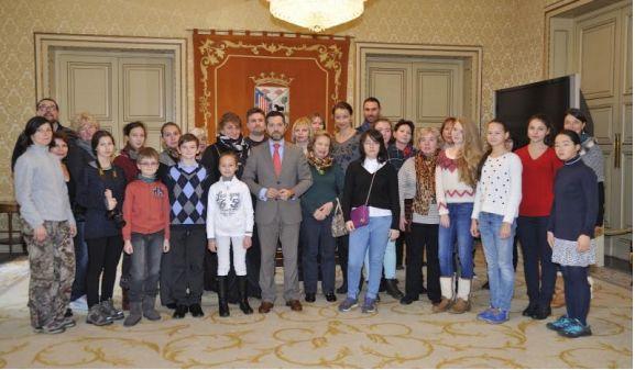 Talentos musicales rusos visitan España con La Antigua