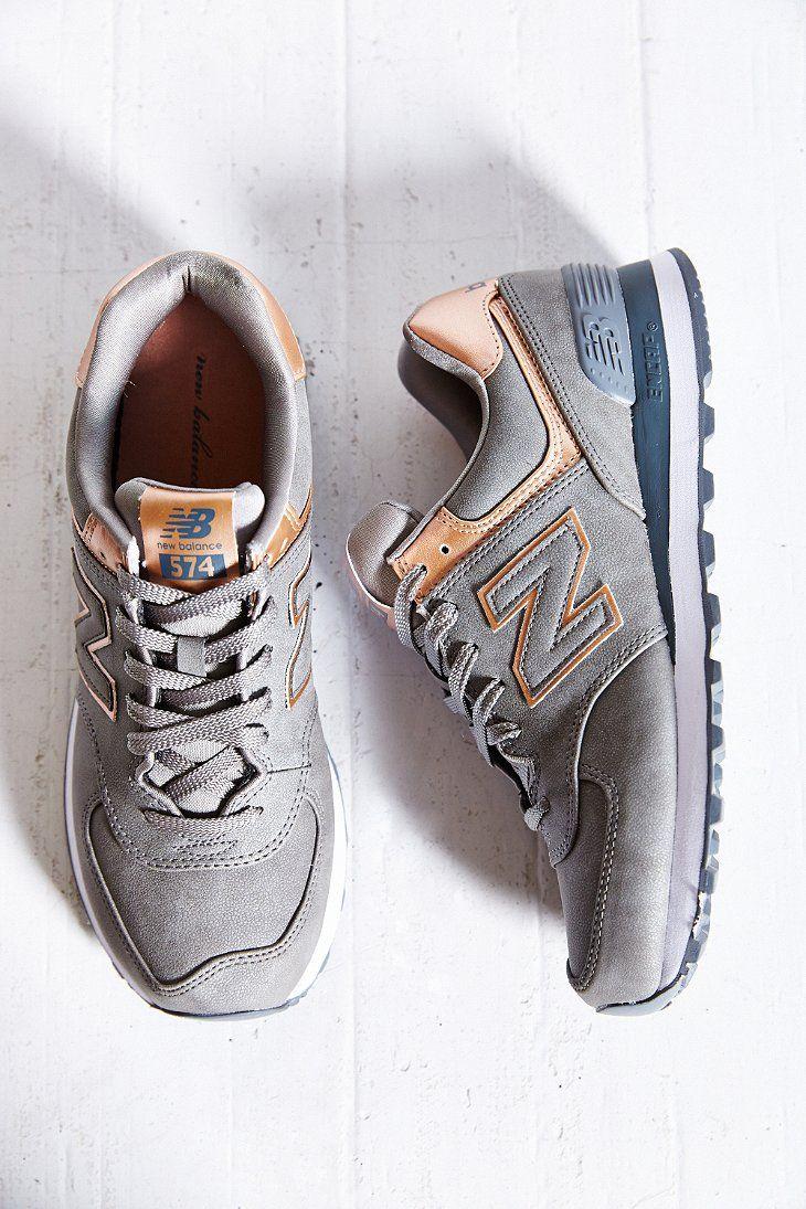 New Balance 574 Precious Metals Running Sneaker