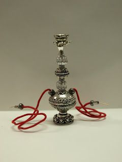 Itty Bitty Adventures: Miniature Monday - Beads and Miniature Hookahs