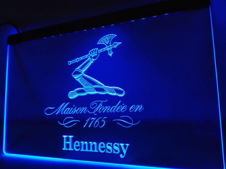 LE186- Hennessy XO 1765 Bar Pub Club LED Neon Light Sign Man Cave #Unbranded #NewClassicalPostmodern