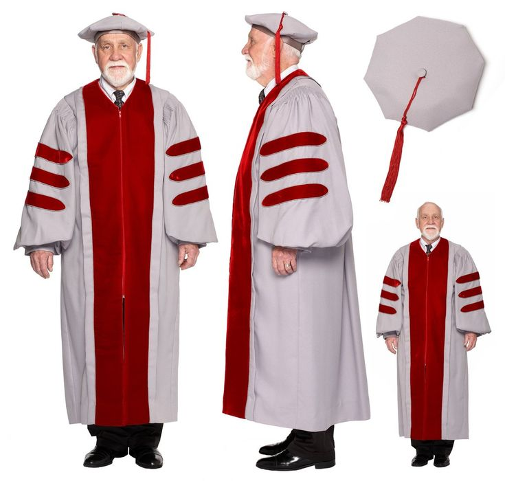 Official design PhD Gown for MIT includes Hood, and Cap made of premium material and detailed tailoring. Doctoral Regalia Rental to save you money!
