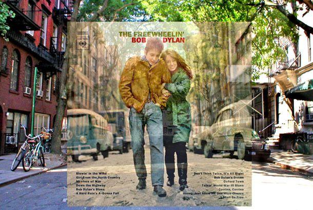こんなガイドブックがあってもいいかも! ニューヨークやロンドンなどではこれまで様々なアーティストが自身のアルバムのカバー写真を撮影してきました。その撮影した場所を現在の様子と重ね合わせて紹介してくれるサイトがこちらの「Pop Spots.Com」。 面白いのが、ただ場所を教えてくれるわけではなく、現在撮られた写真に当時のカバー写真を重ね合わせているところ。周りのお店の様子や実際に立っていた場所がよくわかり、想像がどんどん膨らんでしまいます。サイトからいくつか抜粋して紹介します。  ニューヨークパンクスの代名詞「The New York Dolls」の1stアルバム「The New York Dolls」のジャケ写。ニューヨークのSt.Mark's Placeと2ndアベニューの角。お店もそのままです。  「The Doors」の2ndアルバム「Strange…