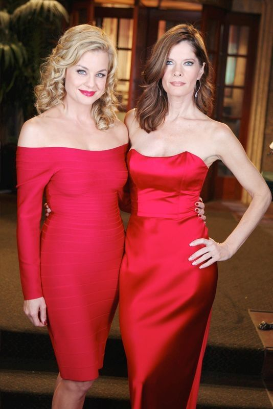 The Young and the Restless Photos: Jessica Collins and Michelle Stafford on CBS.com