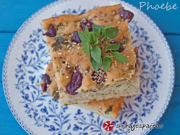 Fluffy olive pie #cooklikegreeks