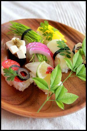 Vegan sushi ღ