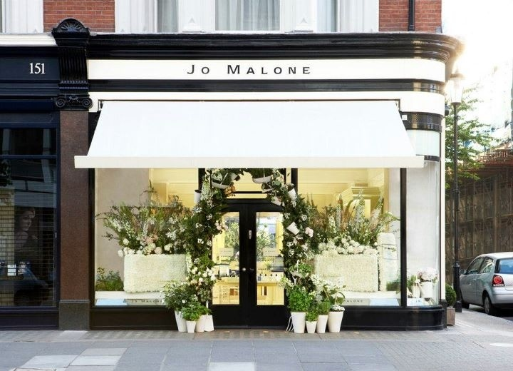 Jo Malone London Wonderfully Designed Space Shop