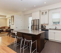 you don't have to cook on vacation! #kitchen #livingspace #getaway #vacation #islandtime #relax