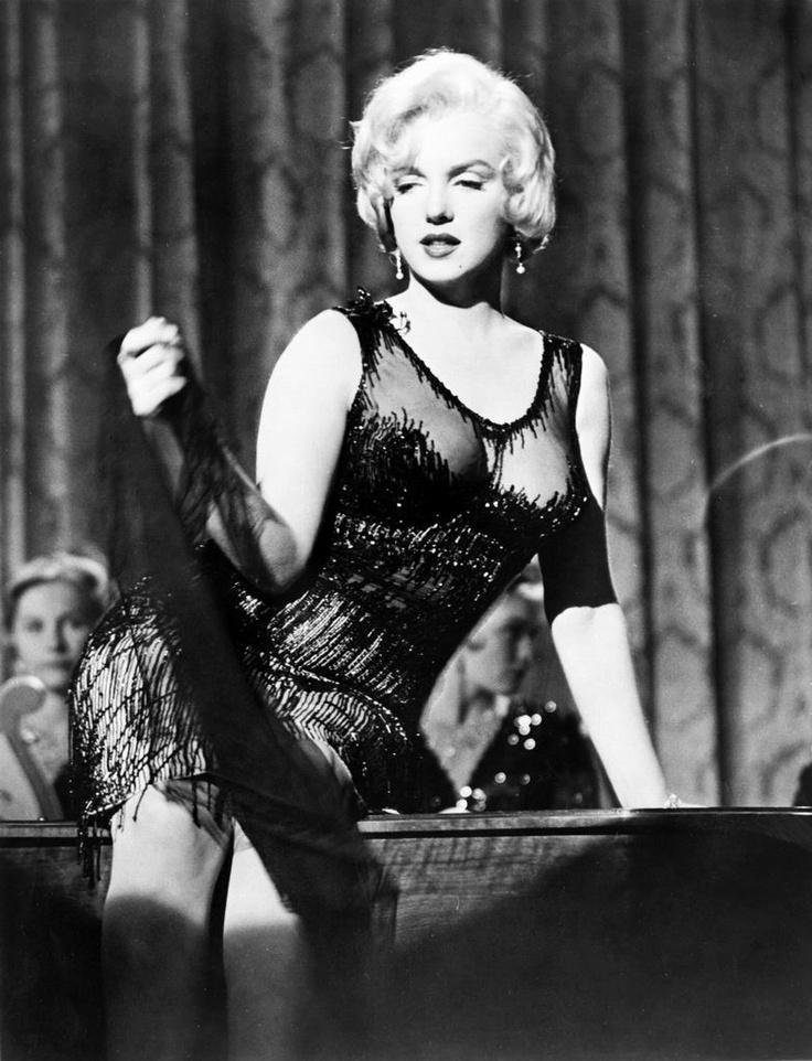 Marilyn Monroe, A qualcuno piace caldo - 1959