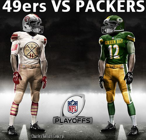 49ers vs packers 2 | NFL Uniform Idea | Mike wallace, Ucf ...