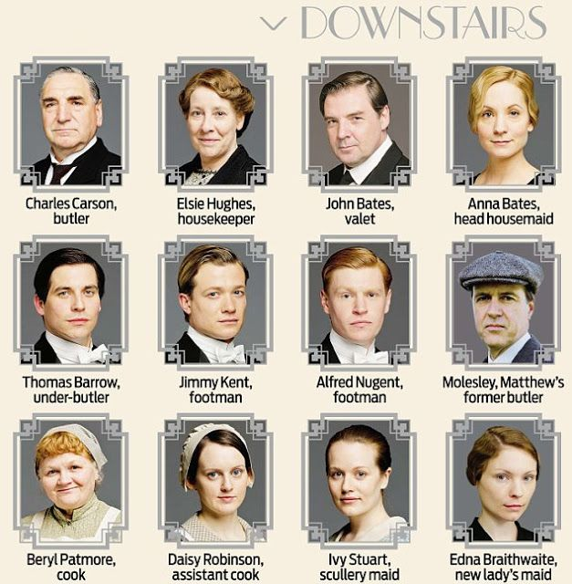 Downton Abbey Season 4 Premiere | So this confirms that Daisy Lewis is not playing the Nanny. We've ...