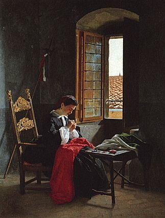 Le 26 avril 1859 -  Odoardo Borrani - VIAREGGIO Instituto Matteucci