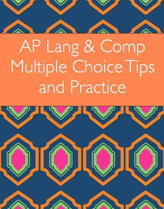 This set includes a student overview covering the AP Language and Composition multiple choice test and two practice activities with readings. Teacher key included. $