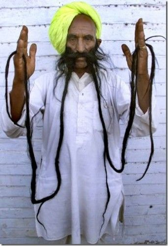 Image result for Badamsinh Juwansinh Gurjar Mustache