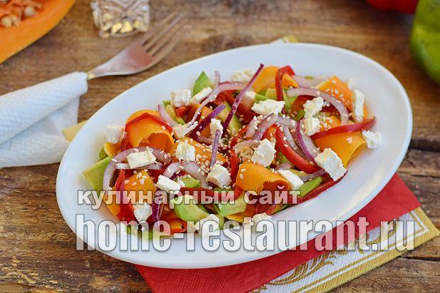 Салат с авокадо тыквой и сыром фета_03
