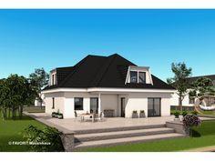 Premium 88/87 - #Einfamilienhaus mit #Einliegerwohnung (ELW) / #Zweifamilienhaus von Bau Braune Inh. Sven Lehner | HausXXL #Mehrgenerationenhaus #modern #Walmdach