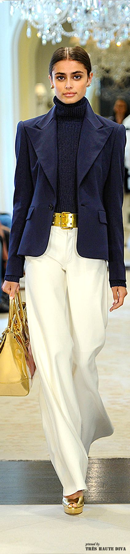 Ralph Lauren Resort 2015| Keep The Glamour ♡ ✤ LadyLuxury ✤. Love this classic look - timeless, TG