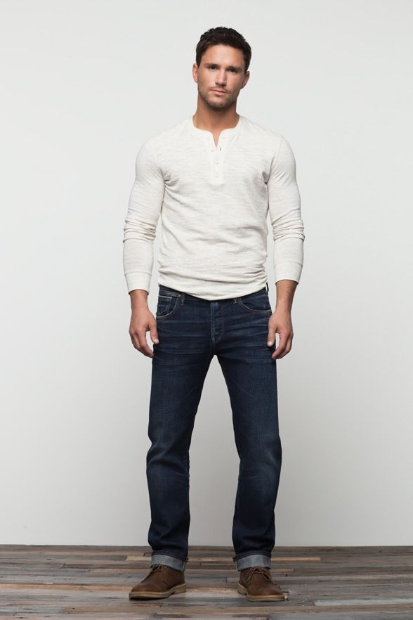 Men Fashion Casual Wear Fashion Men Blue Jeans