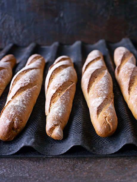 This light, airy baguette has a wonderful crisp golden crust.