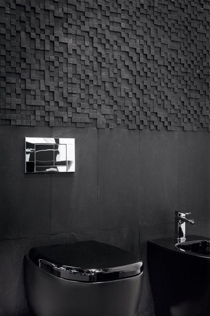 Oltre 20 migliori idee su bagno in ardesia su pinterest - Piastrelle in ardesia ...
