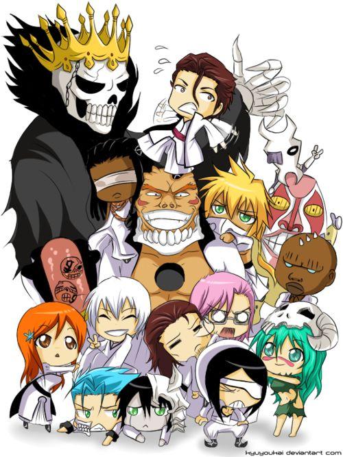 Imagem de bleach, anime, and Ulquiorra