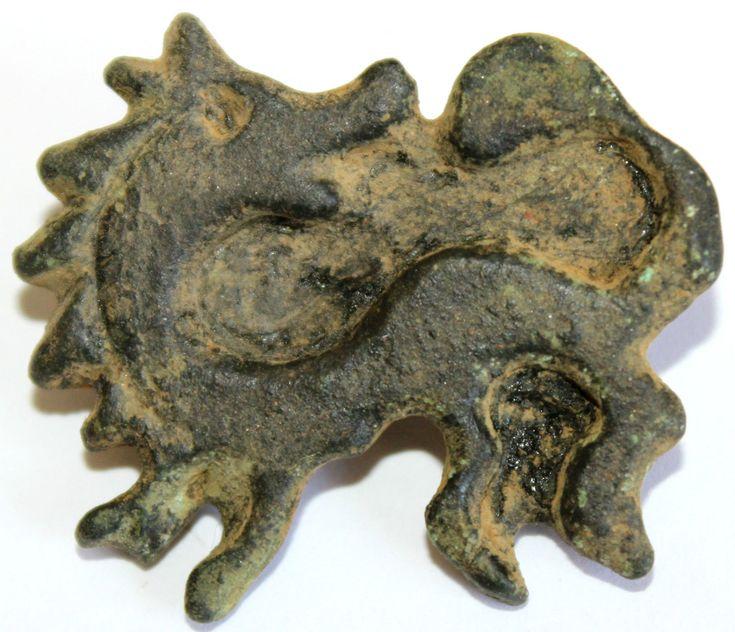 Scandinavian Viking bronze dragon