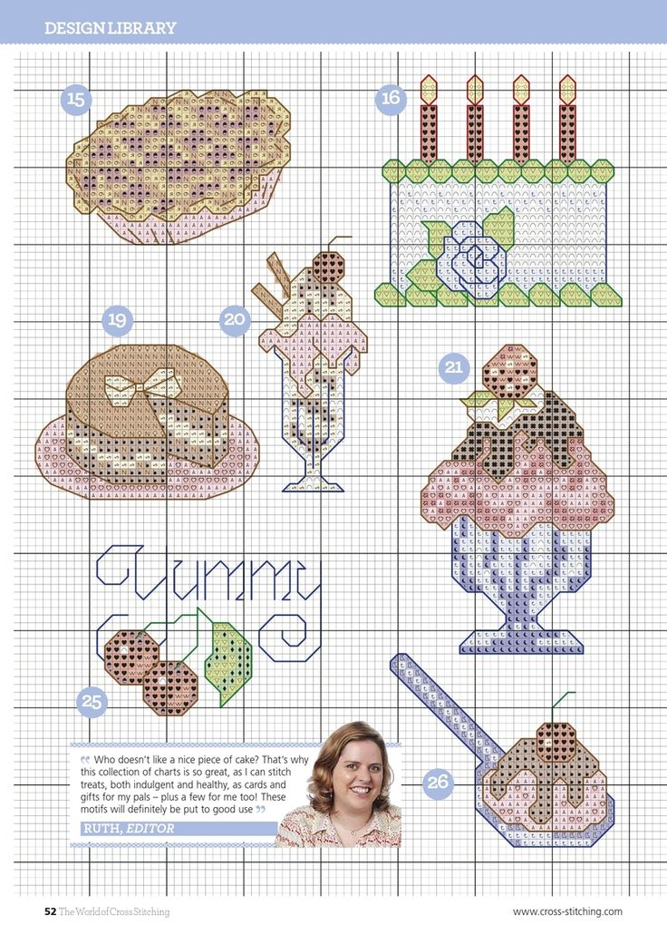 The World of Cross Stitching – March 2015