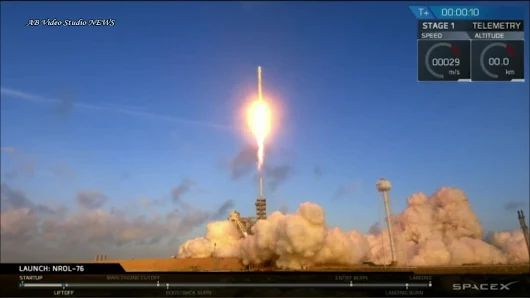 SpaceX Falcon-9 Delivered NORL-76 Satellite | AMAZING LANDING | SpaceX News  ...