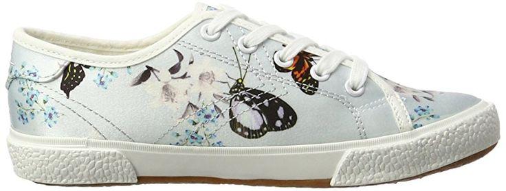 Tamaris 23610, Women's Low-Top Sneakers, Multicolor (Blue Floral 875), 6 UK (39 EU): Amazon.co.uk: Shoes & Bags