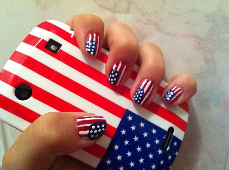 amerikaanse vlag nagellakken - Google zoeken