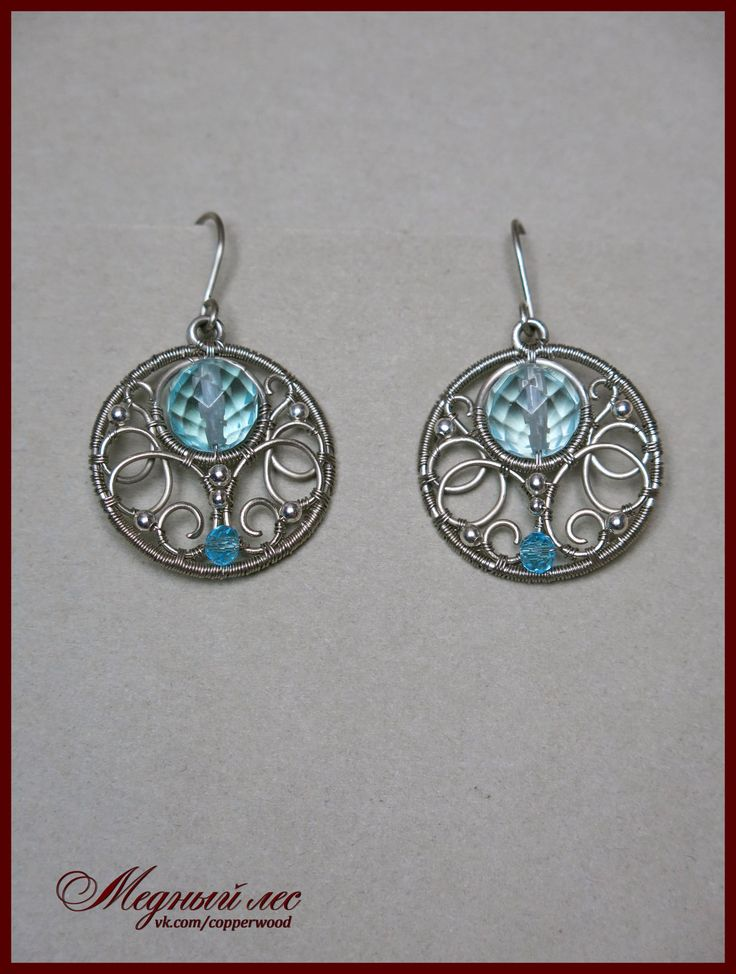 The 272 best wire wrapped earrings images on Pinterest | Wire ...