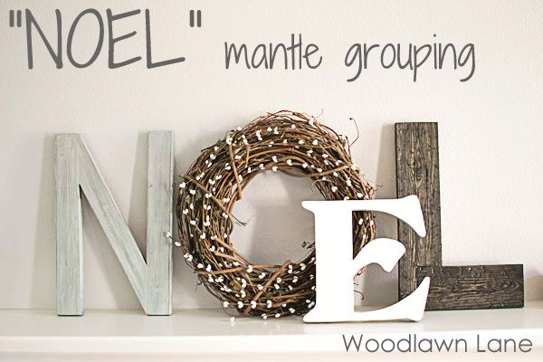 Fun idea for festive letters! Use the new DENY Letters in over 5,000 designs!