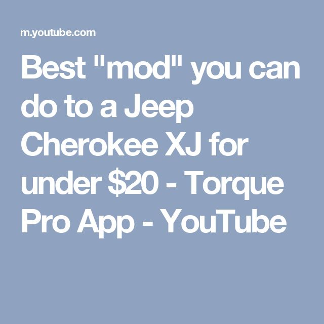 Jeep mods under $20 - YouTube