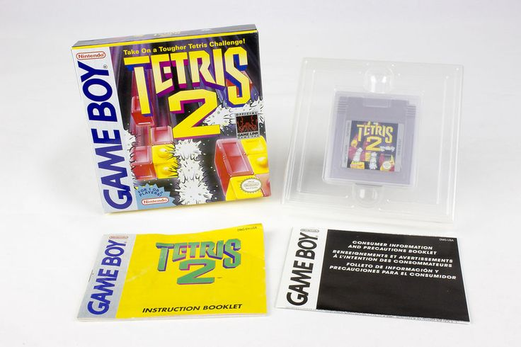 Tetris 2 for Nintendo Game Boy by Nintendo, 1993, Strategy, Puzzle-Solving