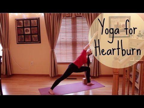 15 Minute Yoga Class To Relieve Heartburn Pain - Girl On Yoga