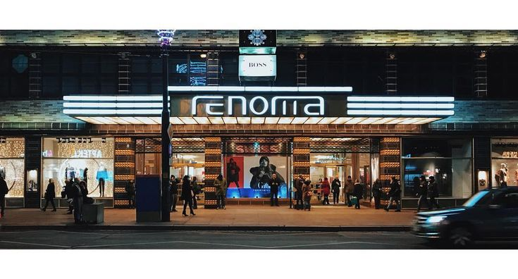 Renoma  #renoma #wroclaw #wrocław #wroclove #street #city #night #evening #shops #casino #neon #neons #light #lights