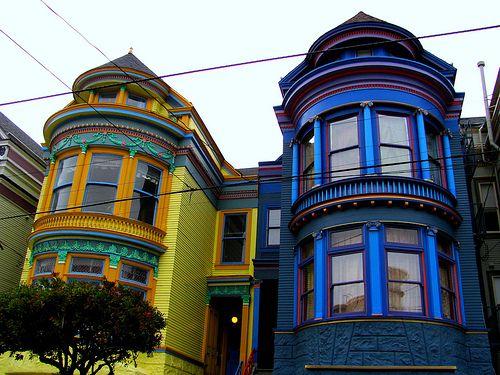 Painted Ladies San Francisco San Francisco Pinterest