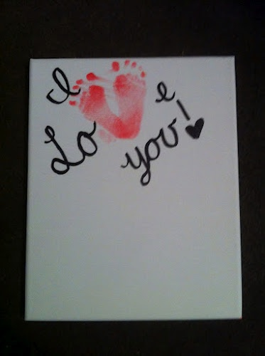 Kid Craft for grandma!! I CAN'T WAIT TO HAVE THE KIDS DO THIS BUT WITH THEIR HANDS PRINTS INSTEAD!