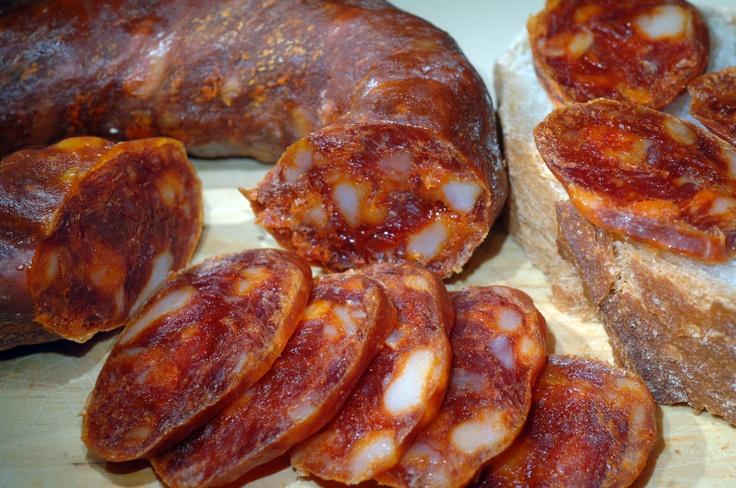 Chorizo - Spicy Sausage #spanishfood