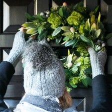 Perfect Christmas Gift From Mitzi B Beanie & Armwarmers- exclusive to MITZI B