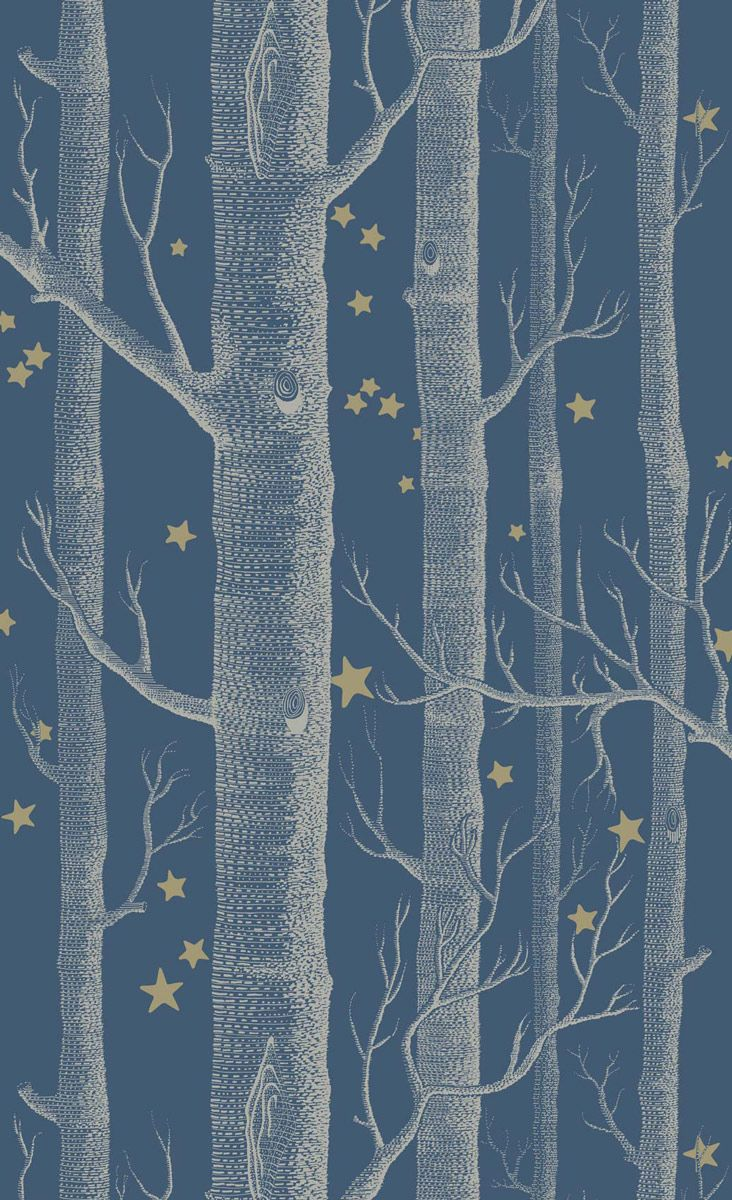 Papier peint woods and stars cole and son for Creer son papier peint