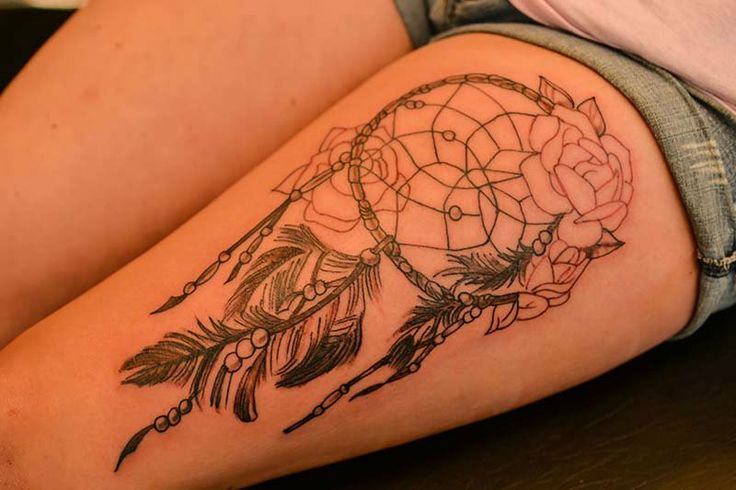 Womens Tattoo Shops in Dallas, GA | Dallas Ga Tattoo Shops | The Illustrator Tattoo by Debi Kienel - Dream-Catcher