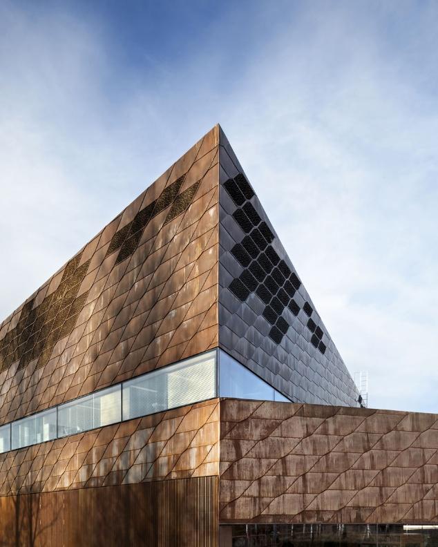 Copper facade - JKMM: Seinäjoki library