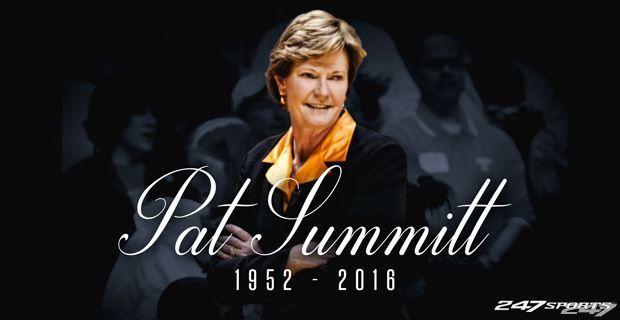 Legendary Tennessee Lady Vols basketball coach Pat Summitt dies at 64