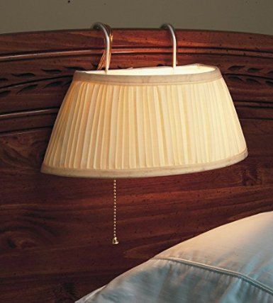 Headboard Lamp. Extra light for bed reading - http://amzn.to/29744XI