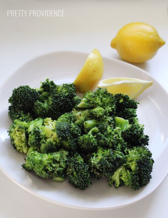 steamed broccoli seasoning