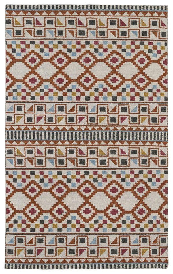 nomad nom08 53 paprika by kaleen rugs