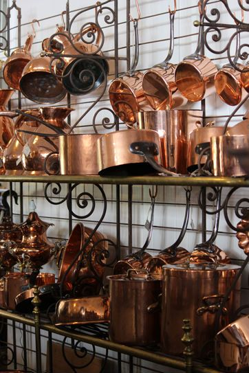 k310 | The Drill Hall Emporium Selection of Copper cookware