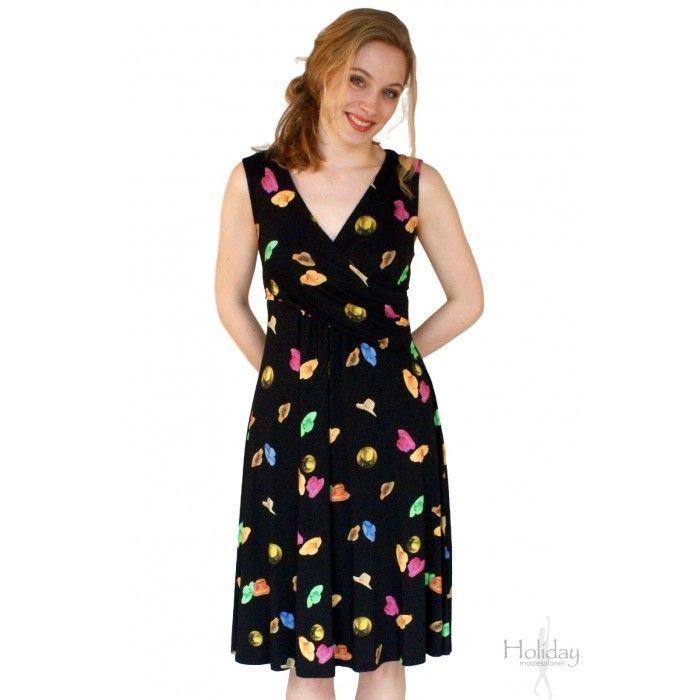 Kjole med drapering