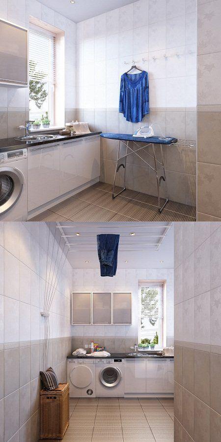 Gambar Ide Desain Ruang Mencuci Pakaian Sedehana » Gambar 1091
