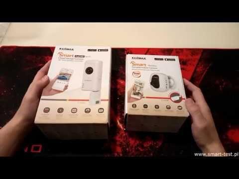 Edimax IC3210W - recenzja / test bezprzewodowej kamery do monitoringu